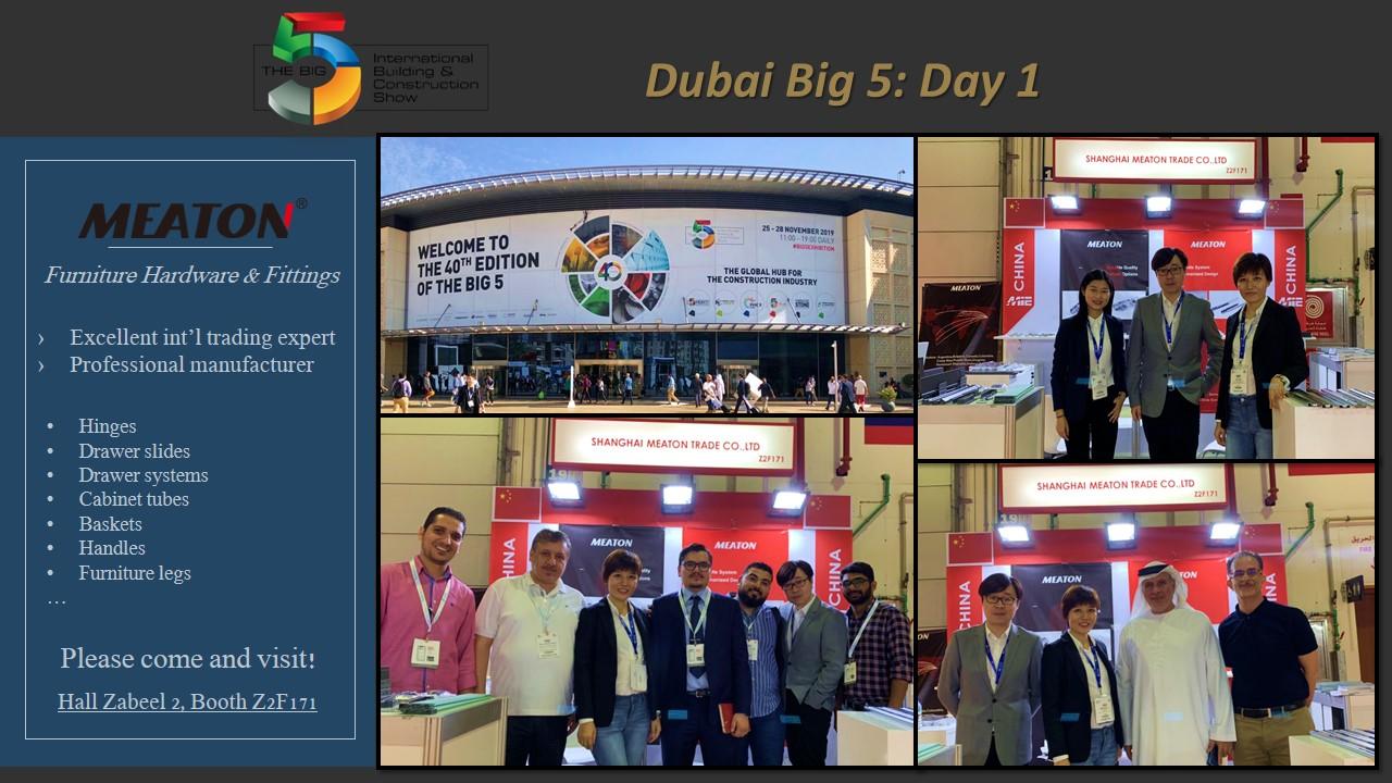 Meaton hardware at Big 5 Dubai Day 1